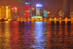 shanghai porcelanowa linia horyzontu Obrazy Stock