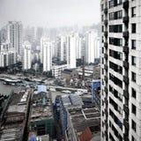 shanghai powietrzny widok Fotografia Royalty Free