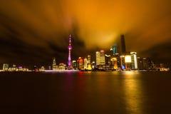 Shanghai prima della pioggia Fotografia Stock Libera da Diritti