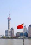 Shanghai-Promenade Stockbild