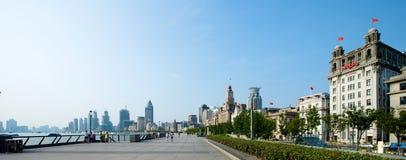 Shanghai-Promenade Lizenzfreie Stockfotografie