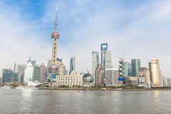 Shanghai Pudong Stock Image