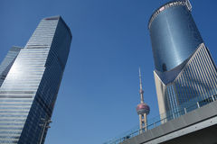 Shanghai pudong Royalty-vrije Stock Afbeelding