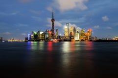 Shanghai Pudong Stockfotografie