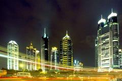 Shanghai Pudong Stock Afbeeldingen