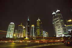 Shanghai Pudong Stock Foto