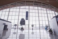 Shanghai Pudong Airport. Shanghai's largest airport, located in Shanghai's Pudong is Shanghai's aviation hub Stock Photos