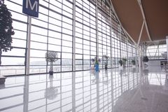 Shanghai Pudong Airport Stock Photo
