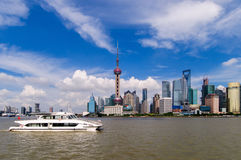 Shanghai Pudong Stock Photo
