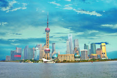 Shanghai Pudong, China Stock Images