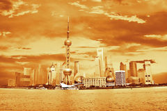 Shanghai Pudong, China Stock Image
