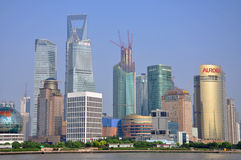 Shanghai Pudong, China Royalty Free Stock Image