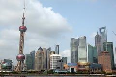 Shanghai Pudong-horizon Stock Foto's