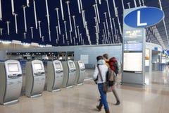 Shanghai pudong  International Airport Royalty Free Stock Photo
