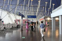 Shanghai Pudong International Airport Royalty Free Stock Images