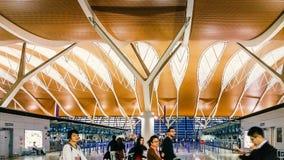 Shanghai Pudong lotnisko mi?dzynarodowe, Chiny fotografia stock