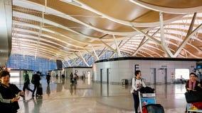 Shanghai Pudong lotnisko mi?dzynarodowe, Chiny zdjęcie stock