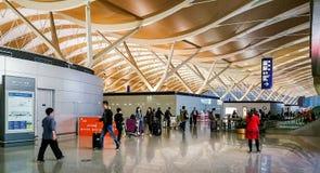 Shanghai Pudong lotnisko mi?dzynarodowe, Chiny zdjęcie royalty free