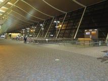 Shanghai Pudong lotnisko w wieczór Zdjęcie Stock