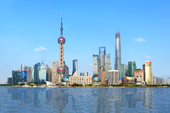 Shanghai Pudong Lujiazui daytime Royalty Free Stock Photography