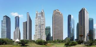 Shanghai pudong lujiazui Stock Photos