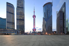 Shanghai pudong lujiazui Royalty Free Stock Image