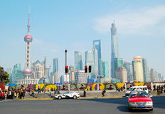 Shanghai Pudong Lujiazui skyline Stock Image
