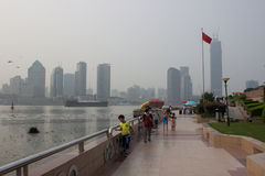 Shanghai Pudong New Area Royalty Free Stock Images