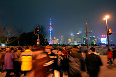 Shanghai - Pudong New Area Royalty Free Stock Images