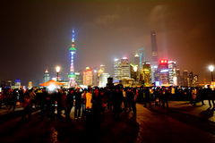 Shanghai - Pudong New Area Stock Photo