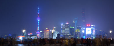 Shanghai - Pudong New Area Royalty Free Stock Photo