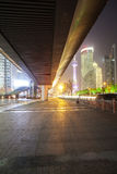 Shanghai Pudong night Royalty Free Stock Photo