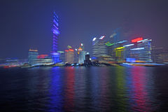 Shanghai Pudong Nowy teren Fotografia Stock