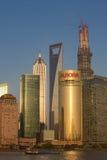 Shanghai Pudong skyline Stock Image