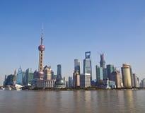 Shanghai Pudong Royalty Free Stock Photos
