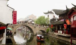 Shanghai qibao Arkivbild