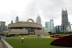 Shanghai - Quadrat der Leute Lizenzfreie Stockbilder