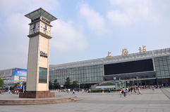 Shanghai Railway Station Royalty Free Stock Image