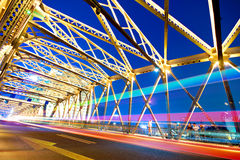 Shanghai Road bridge Stock Photo