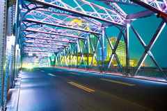Shanghai Road bridge Stock Images