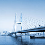 Shanghai Road bridge Royalty Free Stock Photos