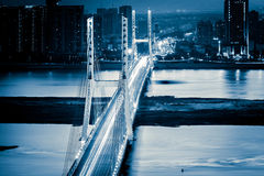 Shanghai Road bridge Royalty Free Stock Images