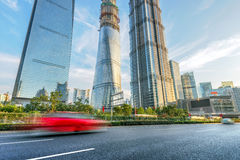 Shanghai road Royalty Free Stock Images