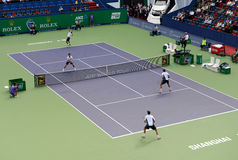 2014 Shanghai Rolex Masters-doubles final Royalty Free Stock Image