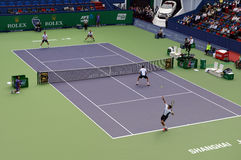 2014 Shanghai Rolex Masters-doubles final Stock Photos