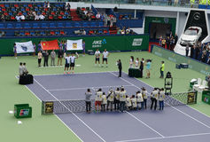 2014 Shanghai Rolex Masters-doubles final Stock Images