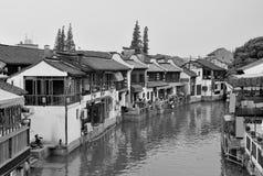 Shanghai rural village Royalty Free Stock Photos