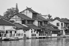 Shanghai rural village Stock Photos