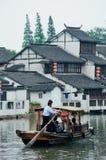 Shanghai rural village Stock Images