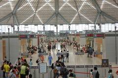Shanghai södra järnvägsstation Arkivbilder